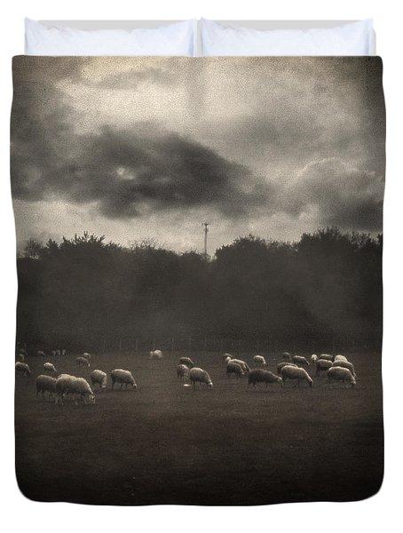 October Insight Duvet Cover by Taylan Apukovska