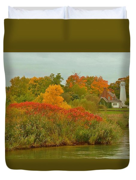 October Light Duvet Cover