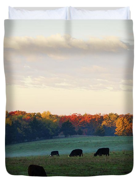 October Morning Duvet Cover