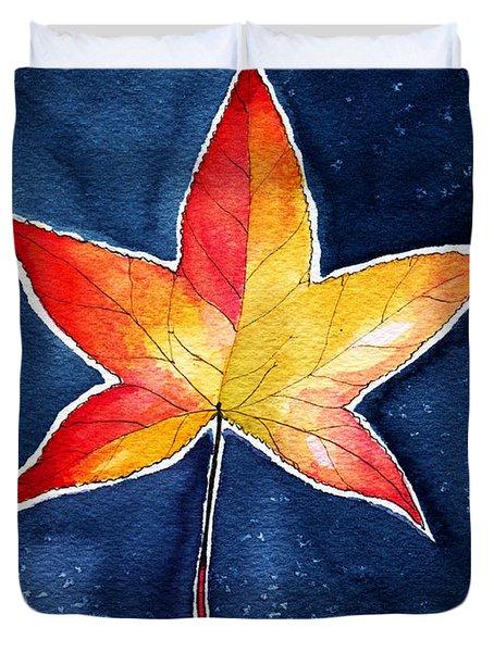 October Night Duvet Cover