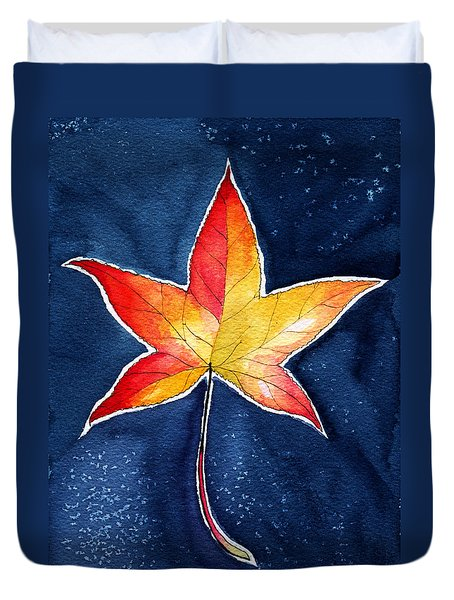 October Night Duvet Cover
