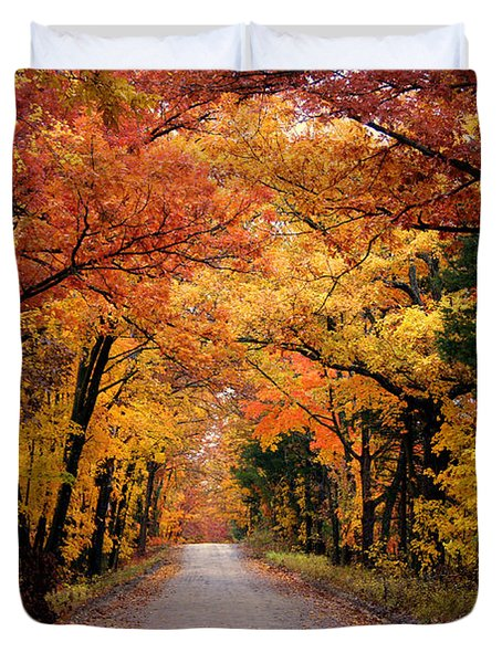 October Road Duvet Cover by Cricket Hackmann