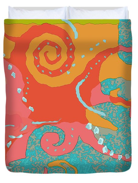 Octopus 1 Duvet Cover