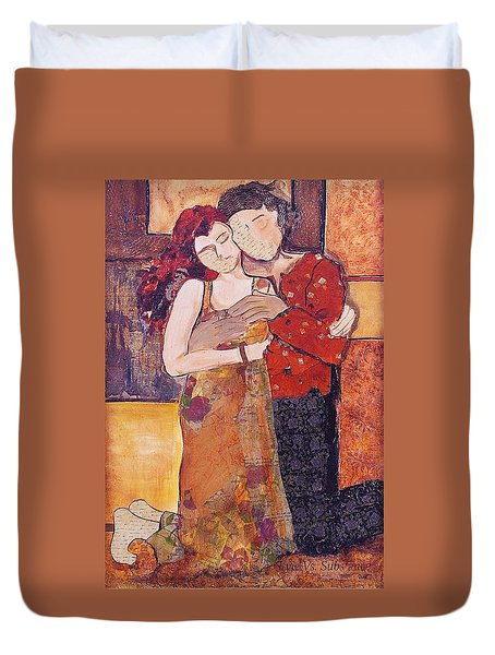 Ode To Klimt Duvet Cover
