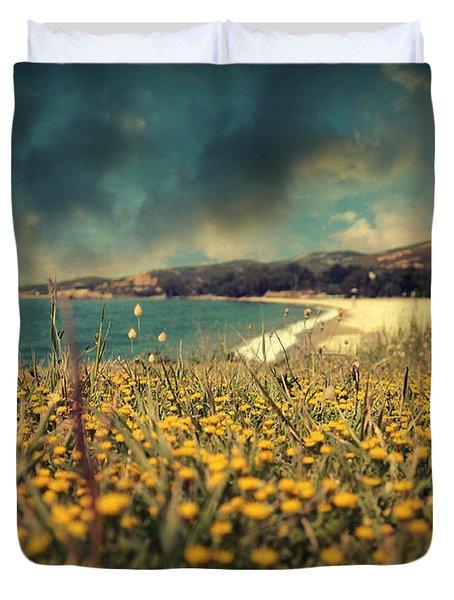 Ode To Melancholy Duvet Cover by Taylan Apukovska