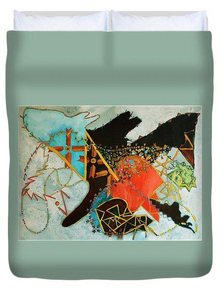 Odin's Dream Duvet Cover