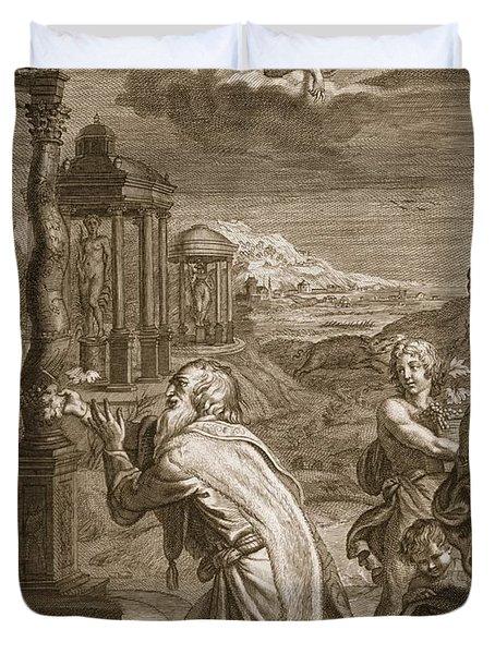 Oeneus, King Of Calydon, Having Duvet Cover