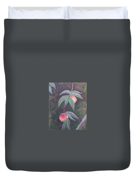 Dreaming Of Florida Peaches Duvet Cover
