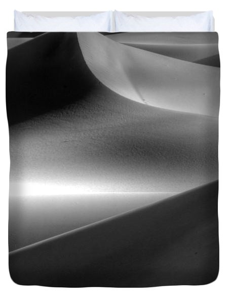 Of Light And Shadow Duvet Cover by Bob Christopher