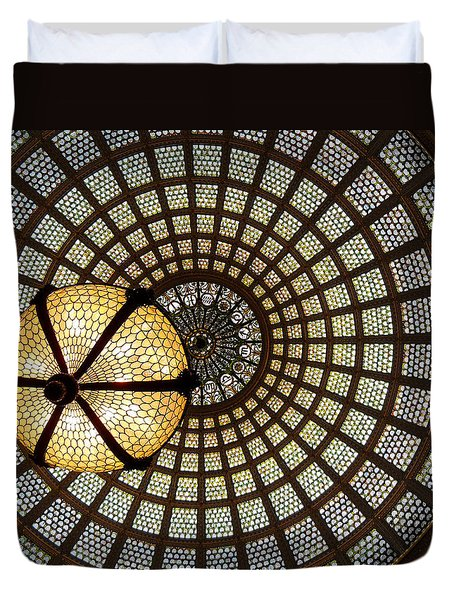 Of Lights And Lamps Duvet Cover