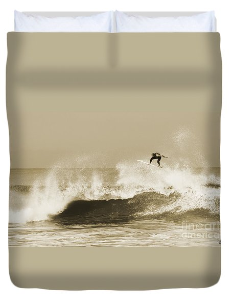 Off The Top Duvet Cover