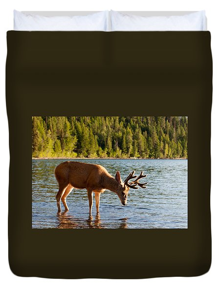 Oh Deer Is That Me Duvet Cover