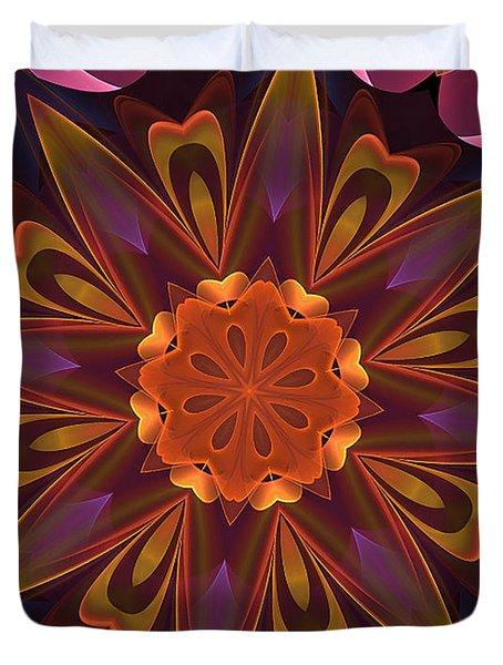 Oh La La Kaleidoscope Duvet Cover