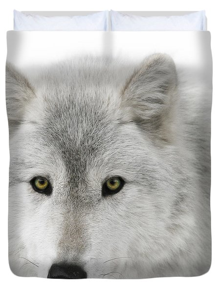 Oh Those Eyes Duvet Cover