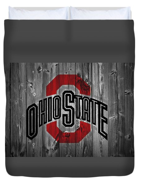 Ohio State University Duvet Cover by Dan Sproul