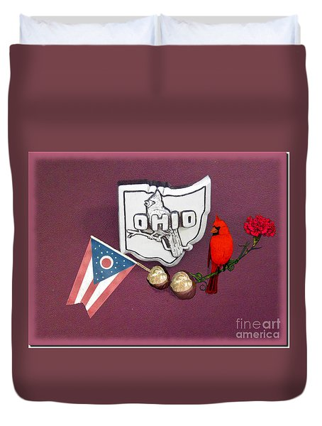 Ohio Wall Hanging Duvet Cover
