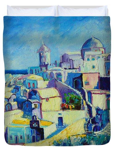 OIA Duvet Cover by Ana Maria Edulescu