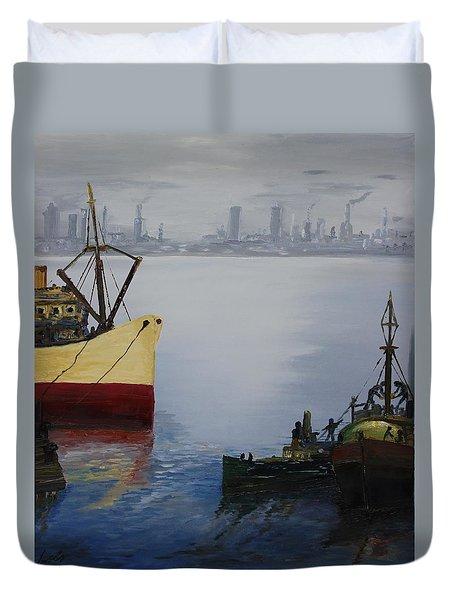 Oil Msc 025  Duvet Cover