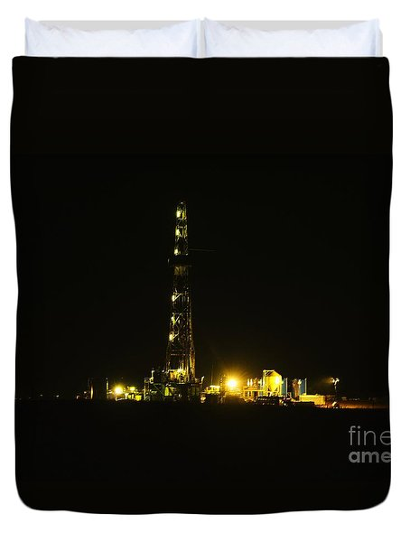 Oil Rig Duvet Cover