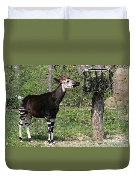 Okapi Duvet Cover by Judy Whitton