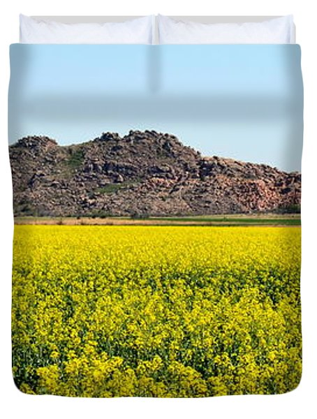 Oklahoma Gold Duvet Cover