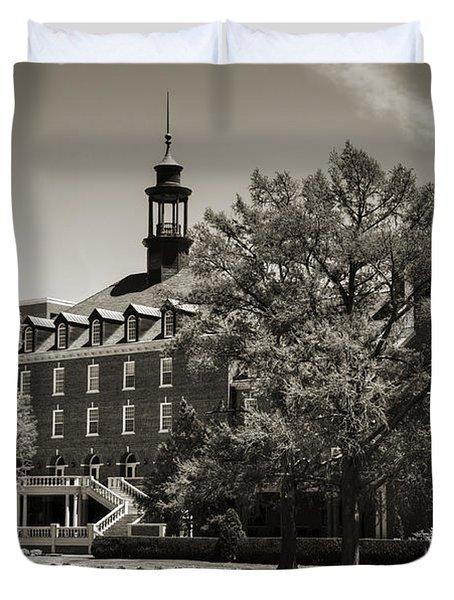 Oklahoma State Student Union Duvet Cover