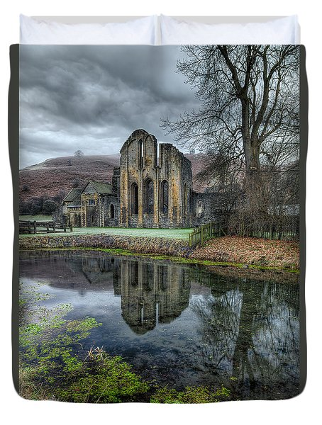 Old Abbey Duvet Cover by Adrian Evans