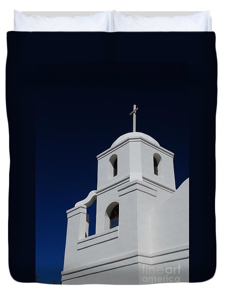 Old Adobe Mission Scottsdale Duvet Cover