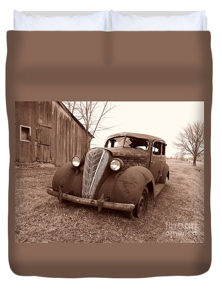 Old And Forgotten Duvet Cover by Judy Whitton