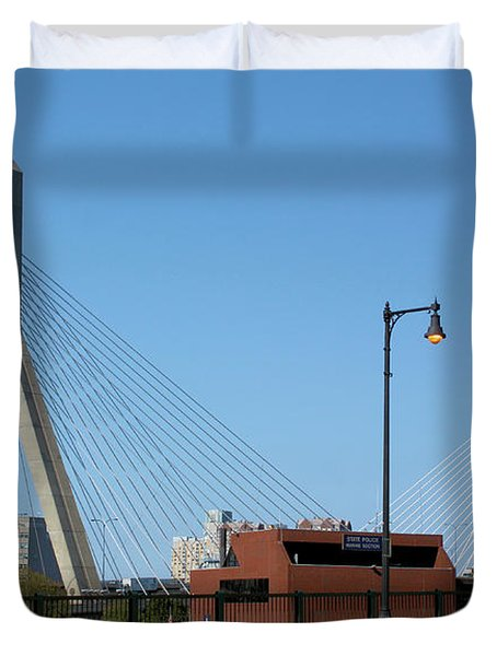 Old And New Boston Duvet Cover by Kristin Elmquist