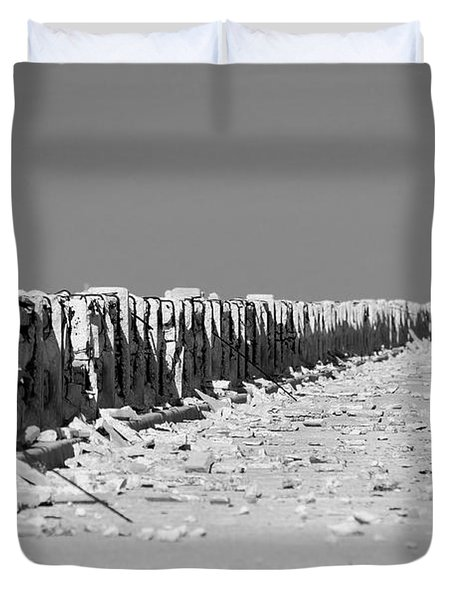 Old Bahia Honda Bridge Duvet Cover