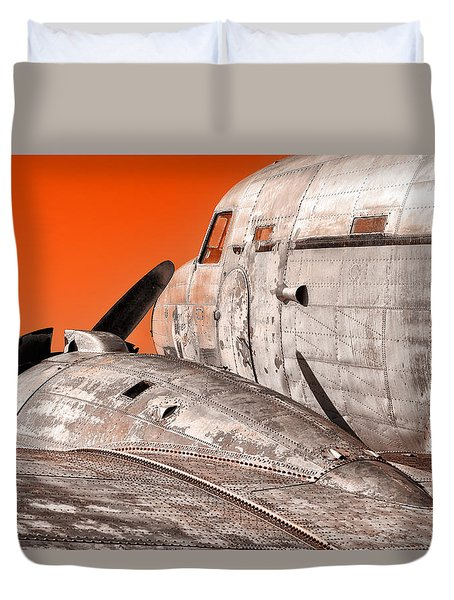 Old Bird Duvet Cover