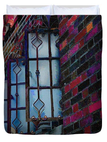Old Brick Renewed Duvet Cover