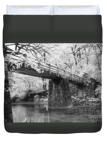Old Brige Duvet Cover