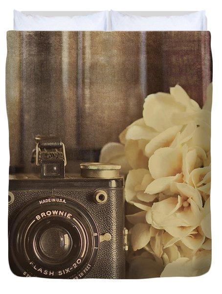 Old Brownie Duvet Cover