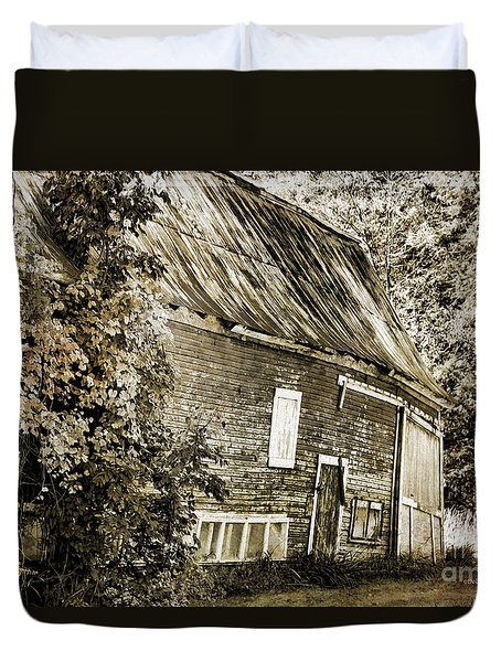 Old But Not Forgotten Duvet Cover by Deborah Benoit