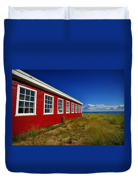 Old Cannery Building Duvet Cover