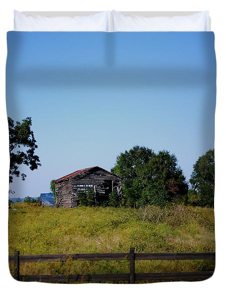 Old Country Barn Duvet Cover by Maggy Marsh