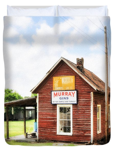 Old Country Cotton Gin Store -  South Carolina - I Duvet Cover