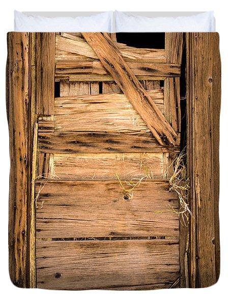 Old Door Duvet Cover by  Onyonet  Photo Studios