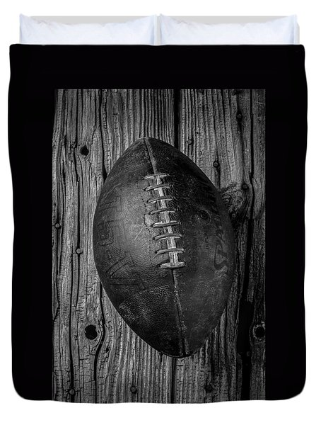 Old Football Duvet Cover