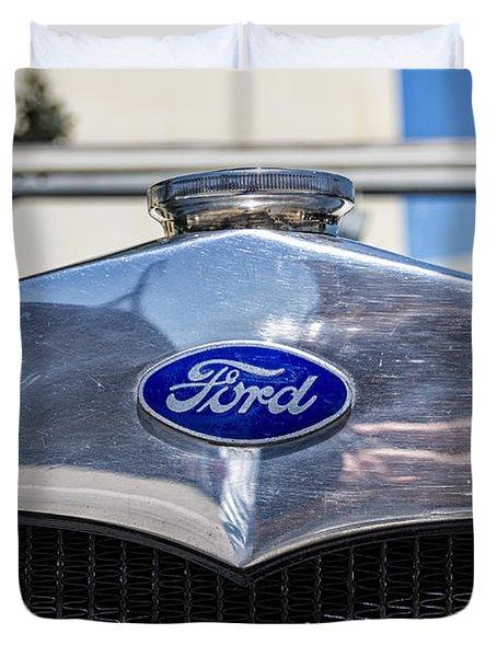 Old Ford Duvet Cover