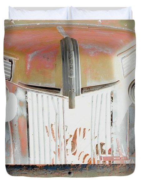 Old Ford Truck - Photopower Duvet Cover