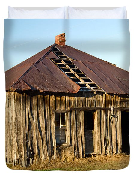 Old House Place Arkansas 2 Duvet Cover by Douglas Barnett