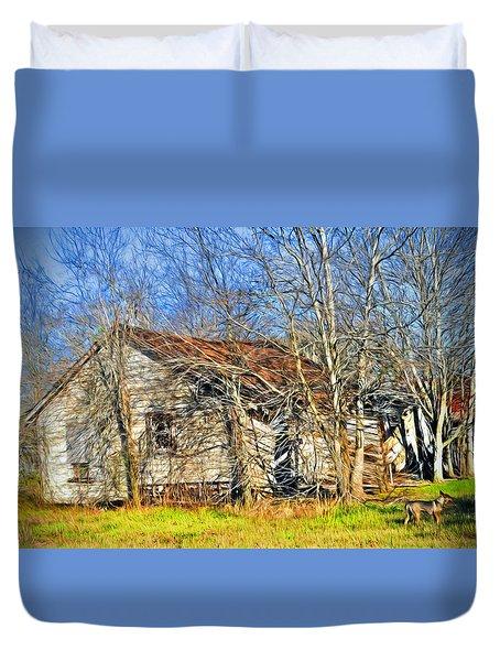 Old House Duvet Cover by Savannah Gibbs