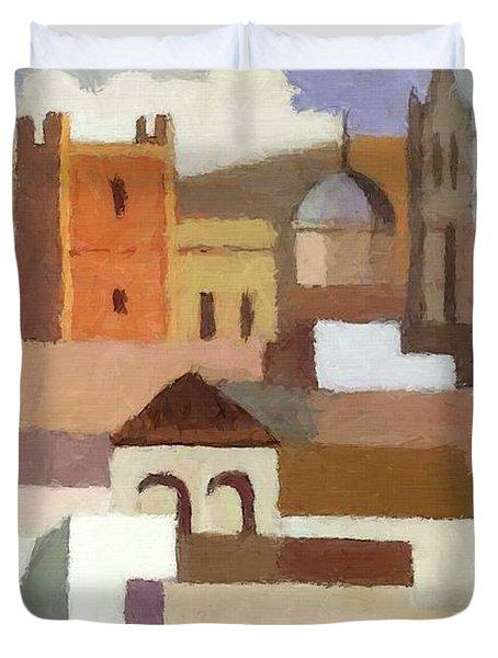 Old Jerusalem Duvet Cover