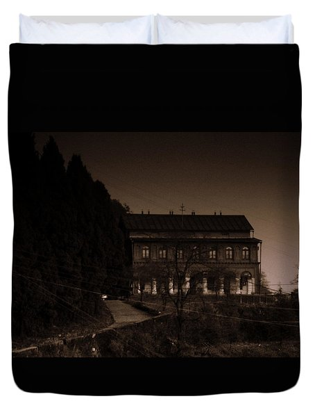 Old Mansion Duvet Cover by Salman Ravish