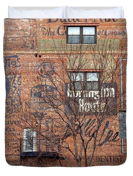 Old Market - Omaha - Metz Building - #1 Duvet Cover