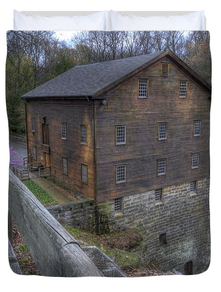 Old Mill Of Idora Park Duvet Cover
