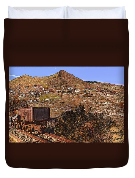 Old Mining Town No.24 Duvet Cover